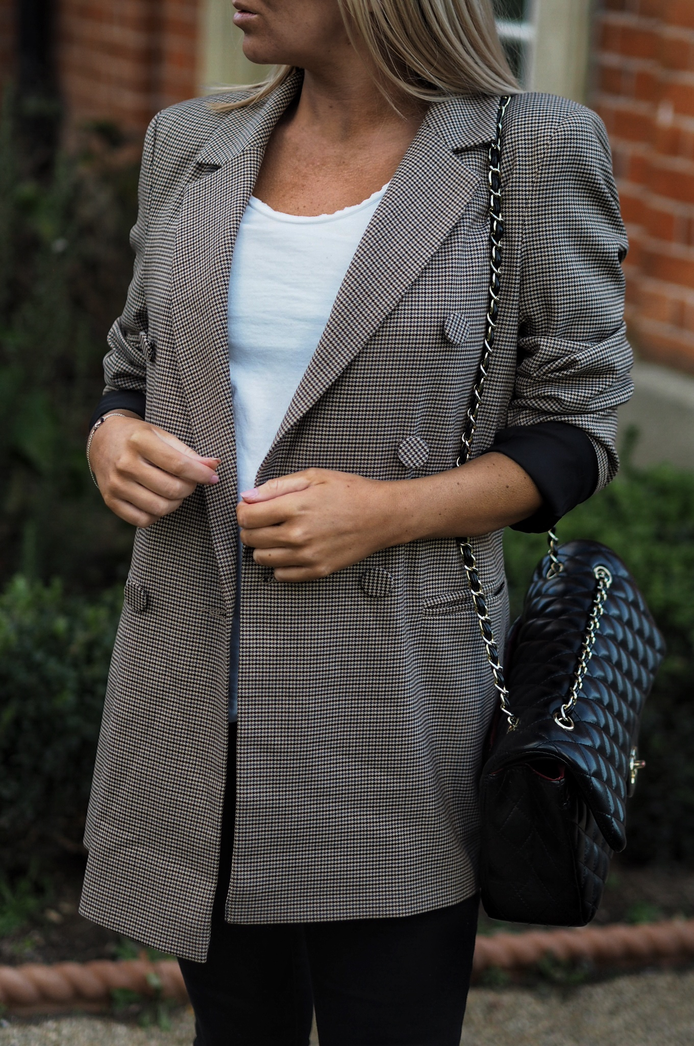 The Perfect Heritage Check Blazer