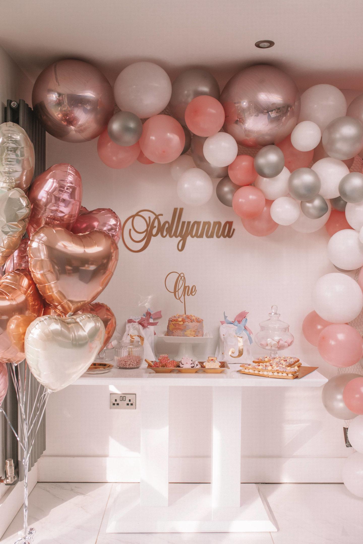 Pollyanna's First Birthday