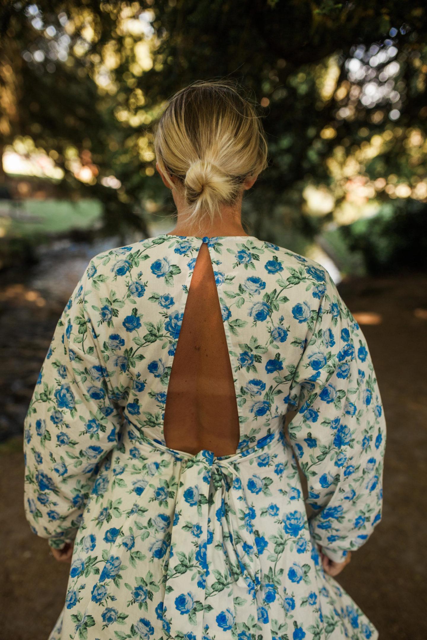 Asos-Floral-Cutout- Back-Dress