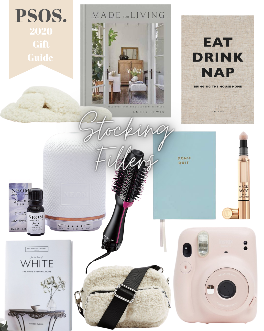 Stocking filler gift guide ideas for best friend, fiancé, girlfriend